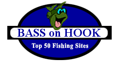 Bass on Hook Top 50 Fishing Sites